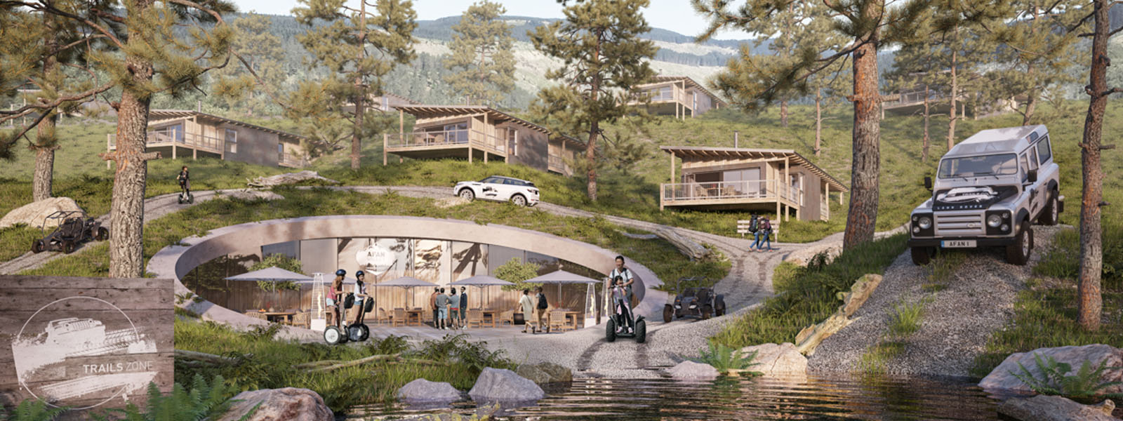 Afan Valley Adventure Resort Lodges